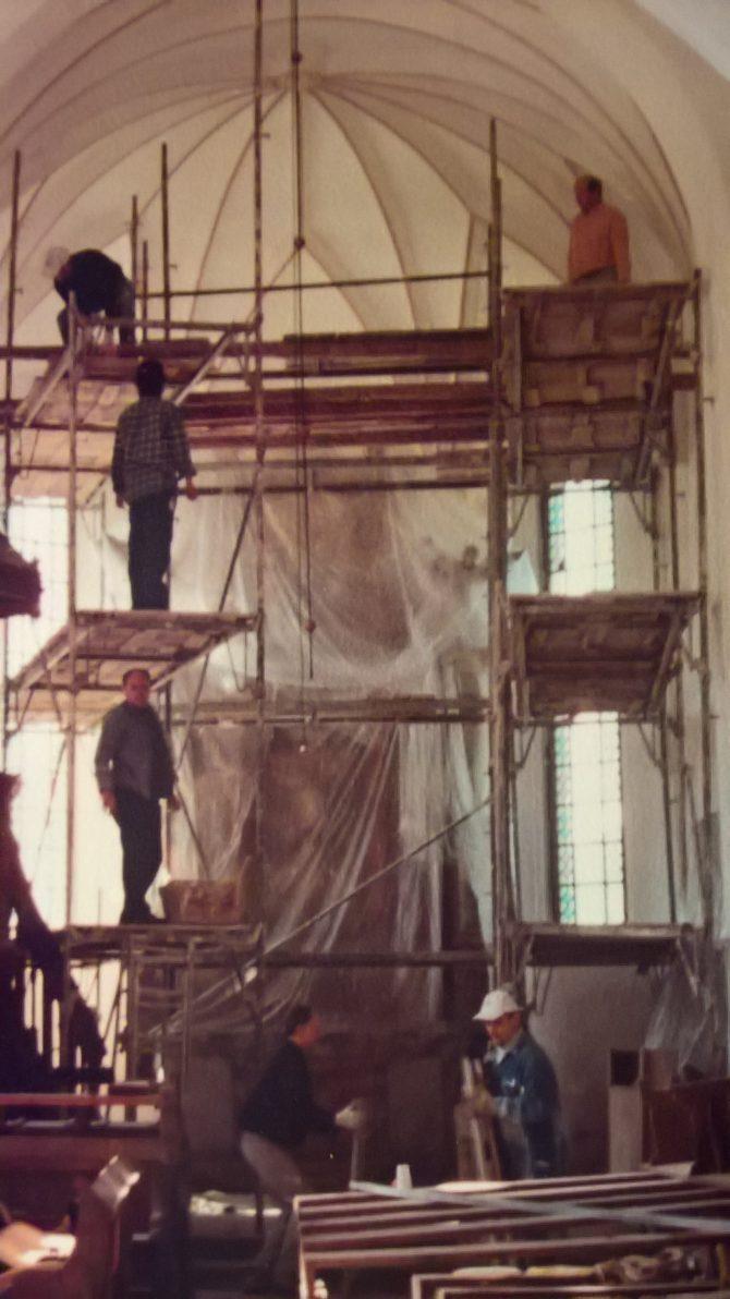 Kirchenrenovierung innen (2000-2005)